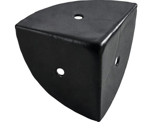 Coin de caisse 45x45x45 acier noir