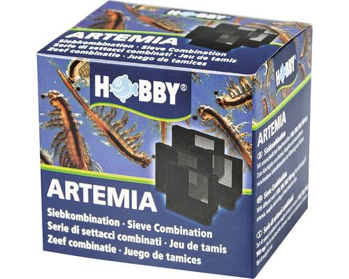 Combinaison de tamis pour artémias HOBBY 4 tamis