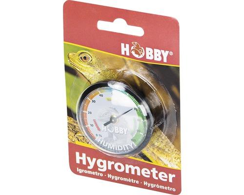 Hygromètre HOBBY pour terrarium autocollant
