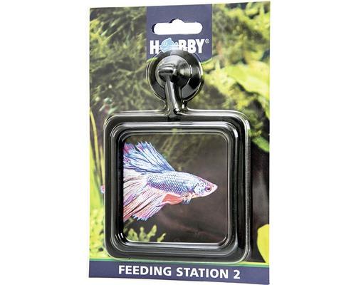Anneau de nourrissage HOBBY Feeding Station 2 carré 10x10cm