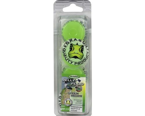 Nourriture gel DRAGON Jelly-Food green Melon 4 x 16g