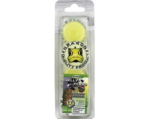 Nourriture gel DRAGON Jelly-Food yellow Banana 4x16g