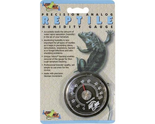 Hygromètre ZOO MED analogue Humidity Gauge