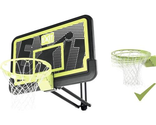 Panier de basket EXIT Galaxy 2 carré avec anneau inclinable Black Edition
