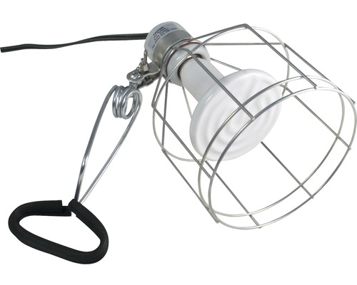 Support pour lampe ZOO MED lampe à pince avec grille de protection max. 150 W