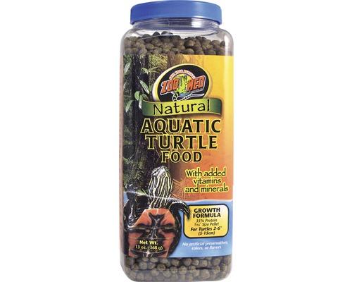 Nourriture en pellets pour tortues d'eau ZOO MED Natural Aquatic Turtle Food Growth 368 g