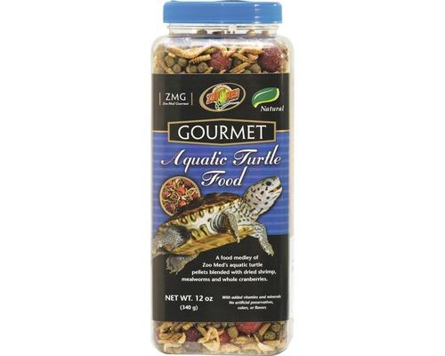 Nourriture pour tortues ZOO MED Gourmet Aquatic Turtle Food 312 g
