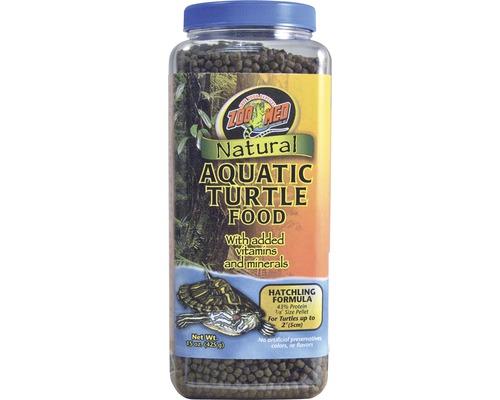 Nourriture en pellets pour tortues d'eau ZOO MED Natural Aquatic Turtle Food Hatchling 425 g