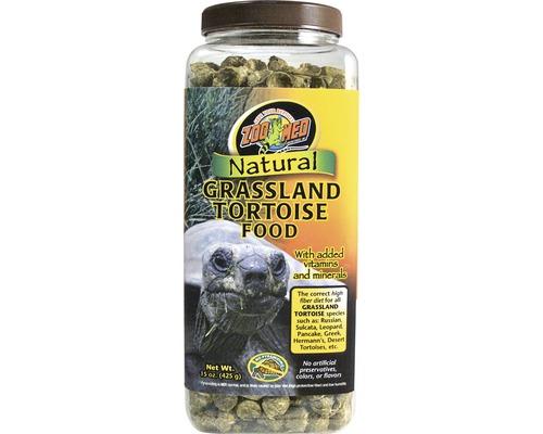 Nourriture en pellets pour tortues terrestres ZOO MED Natural Grassland Tortoise Food 425 g