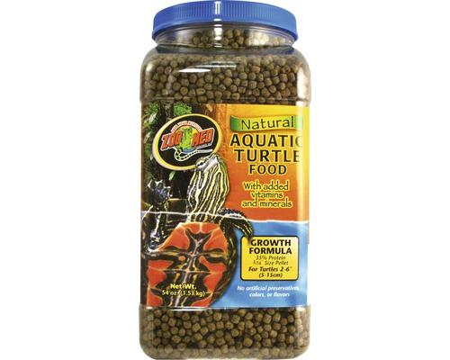 Nourriture en pellets pour tortues d'eau ZOO MED Natural Aquatic Turtle Food Growth 1,53kg