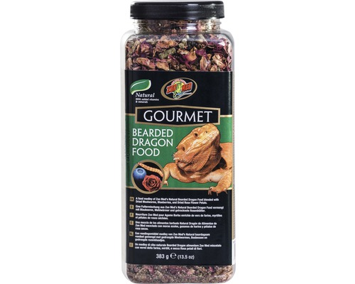 Nourriture pour dragons barbus ZOO MED Gourmet Bearded Dragon Food 383 g