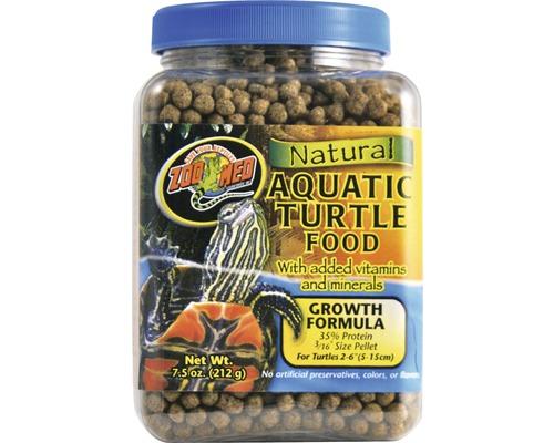 Nourriture en pellets pour tortues d'eau ZOO MED Natural Aquatic Turtle Food Growth 212 g