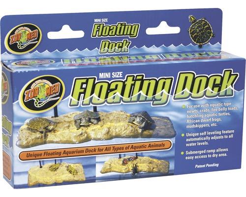 Île flottante ZOO MED Mini Floating Turtle Dock 21x4x9 cm