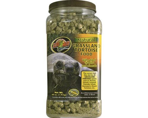 Nourriture en pellets pour tortues terrestres ZOO MED Natural Grassland Tortoise Food 1,70 kg