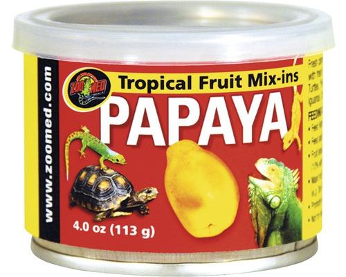 Nourriture pour reptiles ZOO MED Tropical Fruit Mix-ins Papaya 95 g