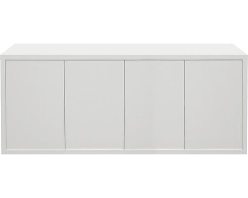Aquarium meuble bas aquatlantis Fusion 40 mm 200x60 blanc