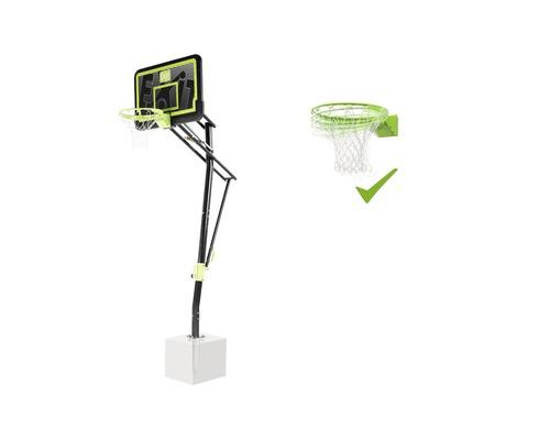 Panier de basket EXIT Galaxy montage au sol avec anneau inclinable Black Edition