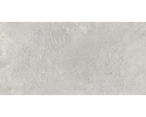 Carrelage pour sol en grès cérame fin Alpen grigio 31x62cm
