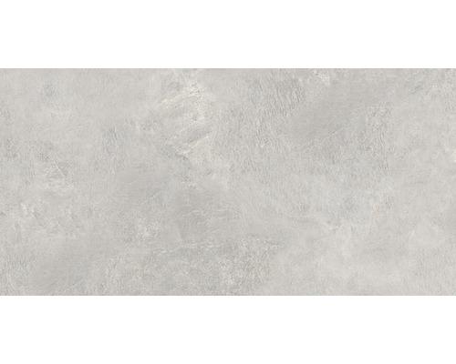 Dalle de terrasse en grès cérame fin Alpen grigio 40,5x81x1,7cm rectifiée