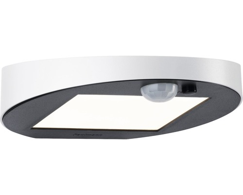 Applique murale Solar à LED IP44 1,2W 100 lm 3000 K blanc chaud Ryse blanc