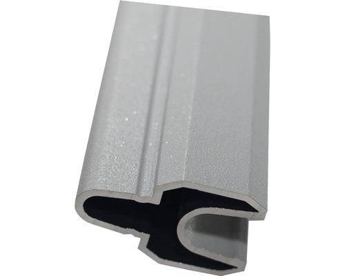 Profilé de jonction alu Flex Grande 180 gris argent