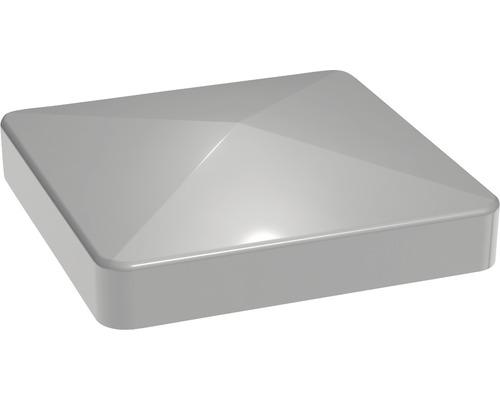 Pfostenkappe 7x7 cm für Flex & Lumino silbergrau