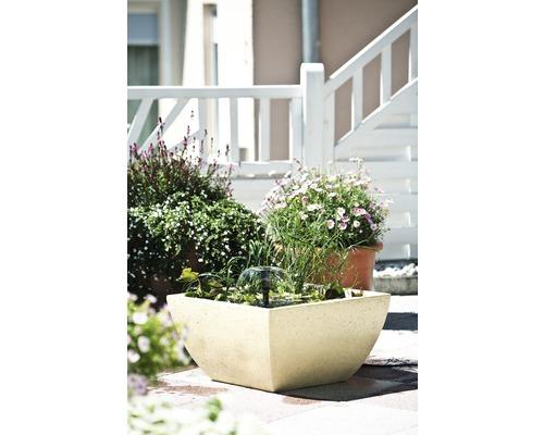 Fontaine carrée 55 x 55 x 30cm couleur sable