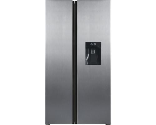 Réfrigérateur américain PKM SBS472.4A+NFWDIX lxhxp 83.6 x 178 x 63.6 cm compartiment de réfrigération 267 l compartiment de congélation 165 l