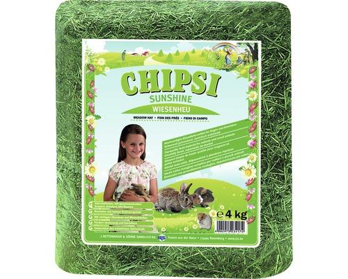 Foin de prairie JRS Chipsi Sunshine 4 kg