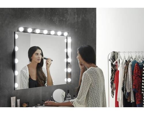 Applique LED miroir Hollywood S3 IP 44 (protégée contre les corps étrangers et les projections d''eau) largeur 60cm