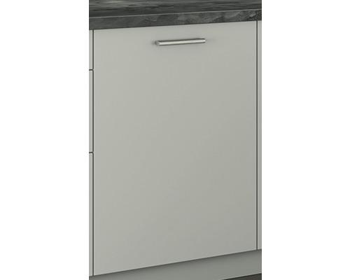 Porte de lave-vaisselle PICCANTE entièrement intégrée, gris clair