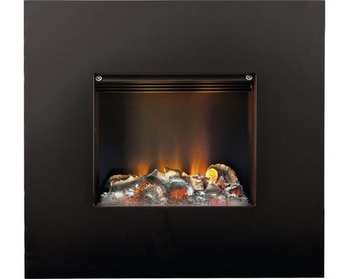 Façade de cheminée Dimplex Nissum S black pour feu de cheminée Engine S