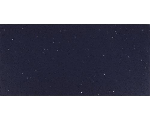 Carrelage de sol, composite de quartz, bleu, 30x60 cm