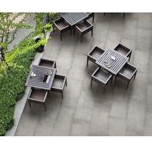 Flairstone Feinsteinzeug Terrassenplatte Loft Grey 120 x 60 x 2 cm rektifizierte Kante-thumb-4