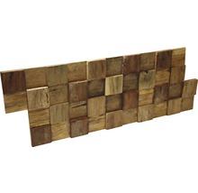 Plaquette de parement en bois Ultrawood Square-thumb-1
