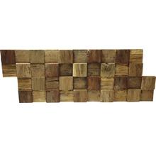 Plaquette de parement en bois Ultrawood Square-thumb-0