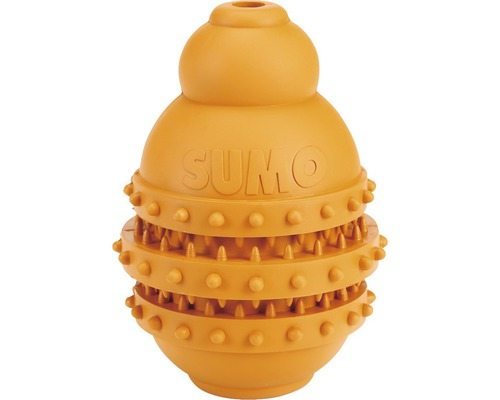 Jouet pour chien Karlie Sumo Play Dental 9x9x12cm orange