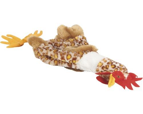 Jouet pour chien Karlie poule en peluche Flatino 25cm