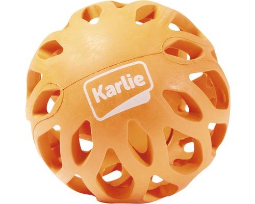 Jouet pour chien Karlie balle Koko 8x8x6,5cm orange