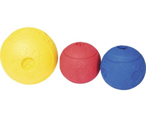Balle snack pour chien Karlie Ruffus vanille 10cm, différentes couleurs
