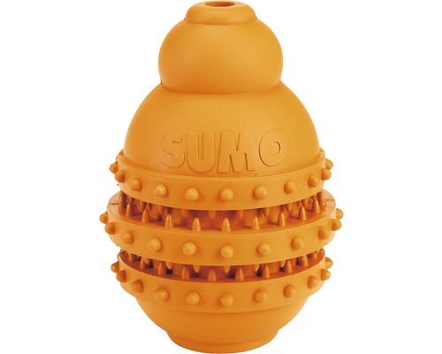Jouet pour chien Karlie Sumo Play Dental 10x10x15cm orange