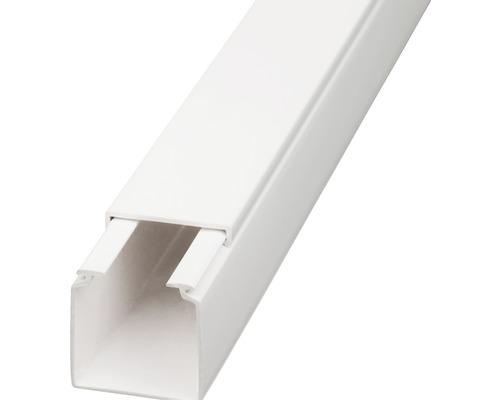 Conduite de câbles l30/h30mm blanc pur 2m-0