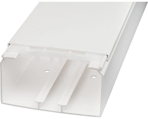 Conduite de câbles l110/h60mm blanc pur 2m-0