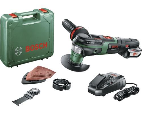 Akku-Multifunktionswerkzeug Bosch AdvancedMulti 18 inkl. 1 Akku und Ladegerät + Zubehör