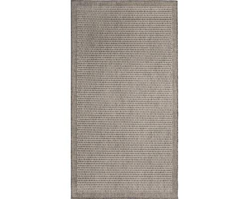 Tapis Paradiso brun 57x110cm