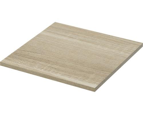 Tablette pour armoire latérale Qube 45 chêne