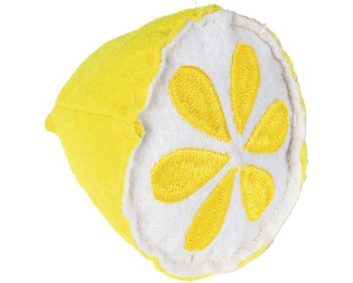 Katzenspielzeug Karlie Textil Limone 6,5 cm gelb