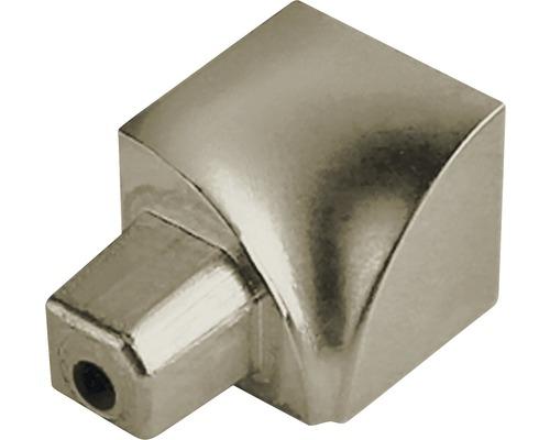 Angle intérieur Dural Durondell DRAE 100-T-YI 10 mm aluminium titane 2 pièces