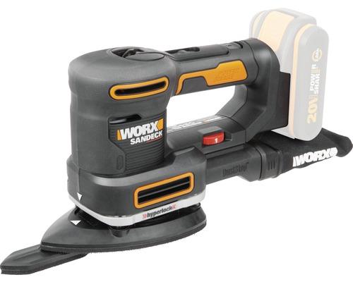 Ponceuse multifonctions sans fil Worx 20V WX820.9, sans batterie ni chargeur