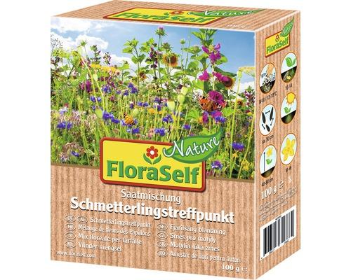 Semences de fleurs de prairie FloraSelf Nature ''Fleurs pour papillons'' env. 100 m²